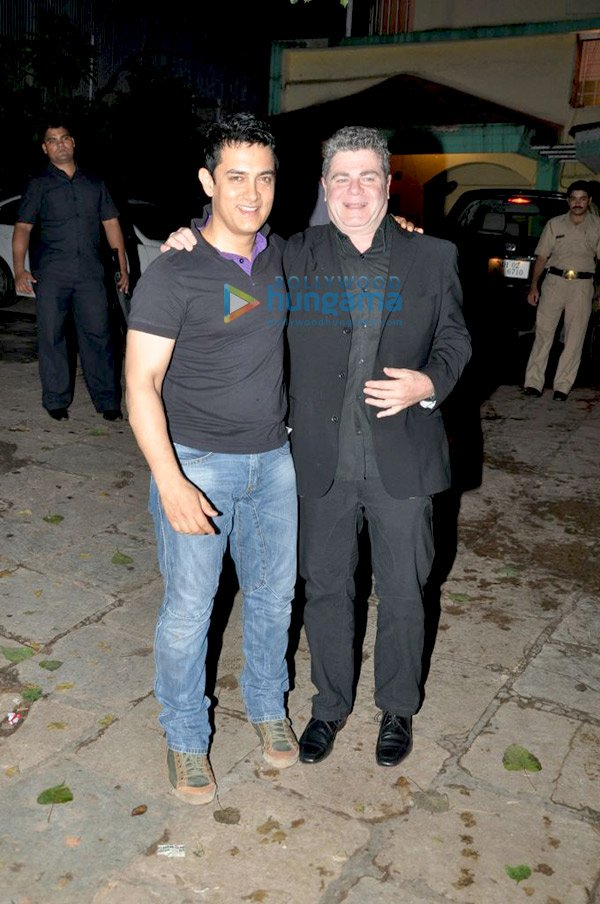 Aamir Khan and Gustavo Santaolalla