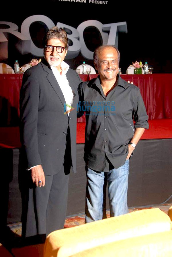 Amitabh Bachchan, Rajinikanth