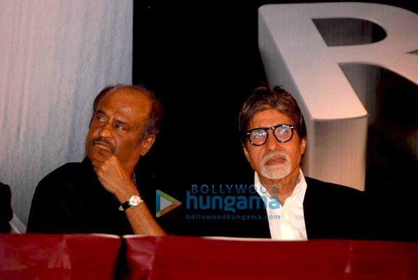 Rajinikanth, Amitabh Bachchan