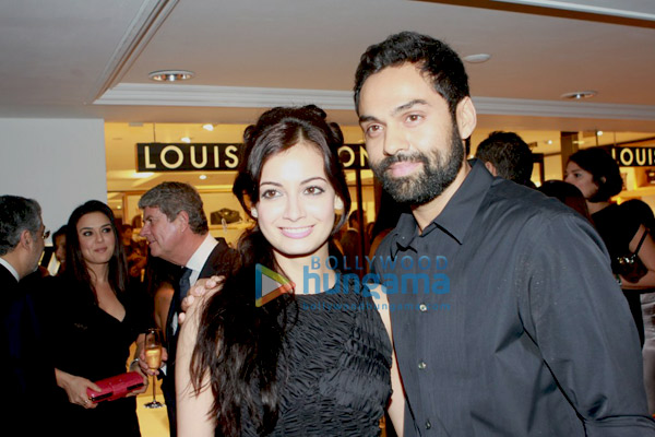 Dia Mirza and Abhay Deol