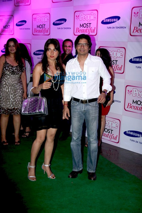 Shaan with his wife