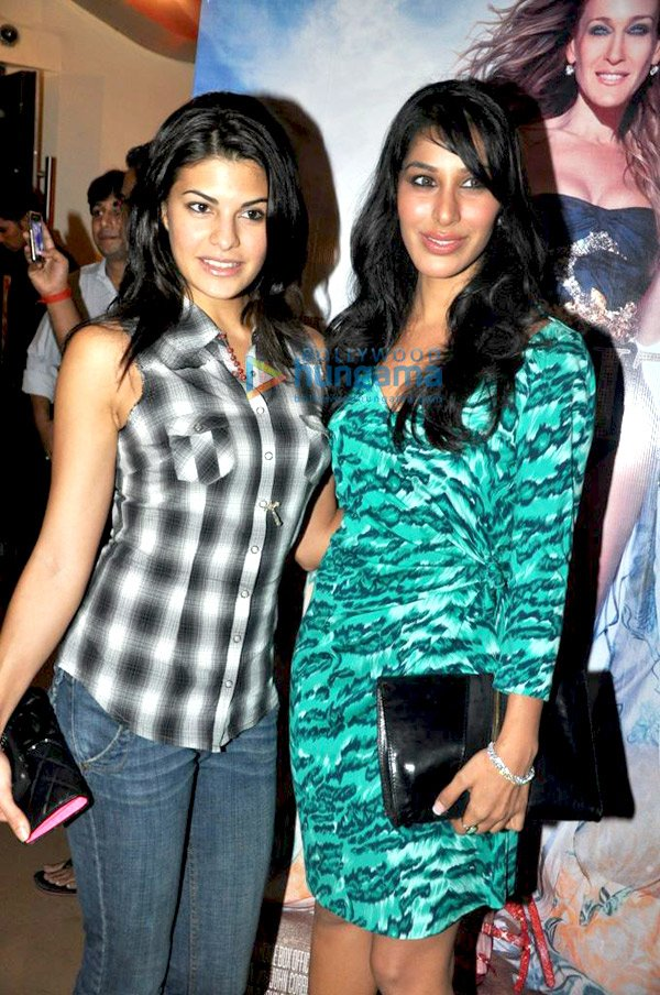 Jacqueline Fernandez and Sophie Choudry