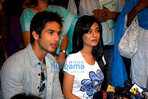 Shahid Kapur and Amrita Rao