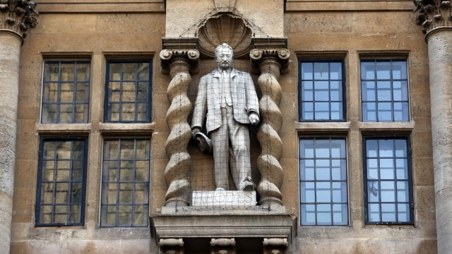Cecil Rhodes statue: The Oxford Rhodes Must Fall protests ...