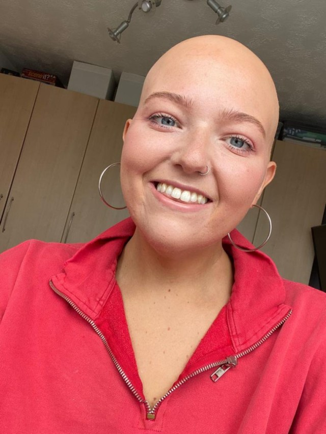 Paige has been shielding since March due to the unknown risk of the coronavirus for people with blood cancers (Photo: Supplied)