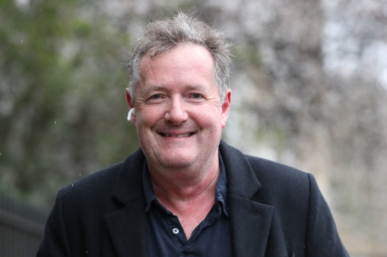 """File photo dated 10/3/2021 of Piers Morgan who has launched an impassioned attack on cancel culture and a defence of free speech in recounting his departure from Good Morning Britain for what he said was not believing the Duchess of Sussex. Issue date: Sunday March 28, 2021. PA Photo. As the end of a five-page diarised article in the Mail on Sunday, in which he said his doubting of Meghan was condemned as """"a racist hate crime"""", the controversial media figure said it is time to """"cancel the cancel culture before it kills our culture"""". See PA story SHOWBIZ Morgan. Photo credit should read: Jonathan Brady/PA Wire"""