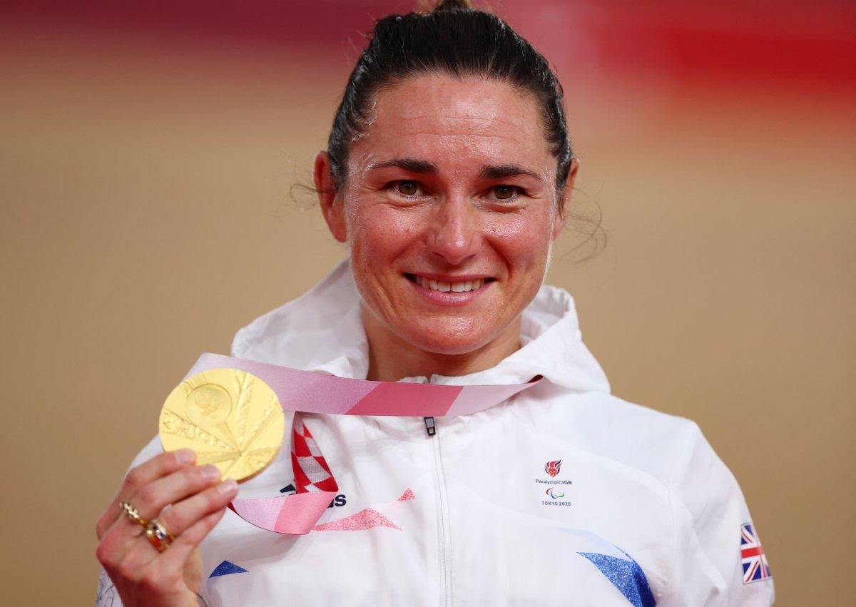 Team GB Sarah Storey