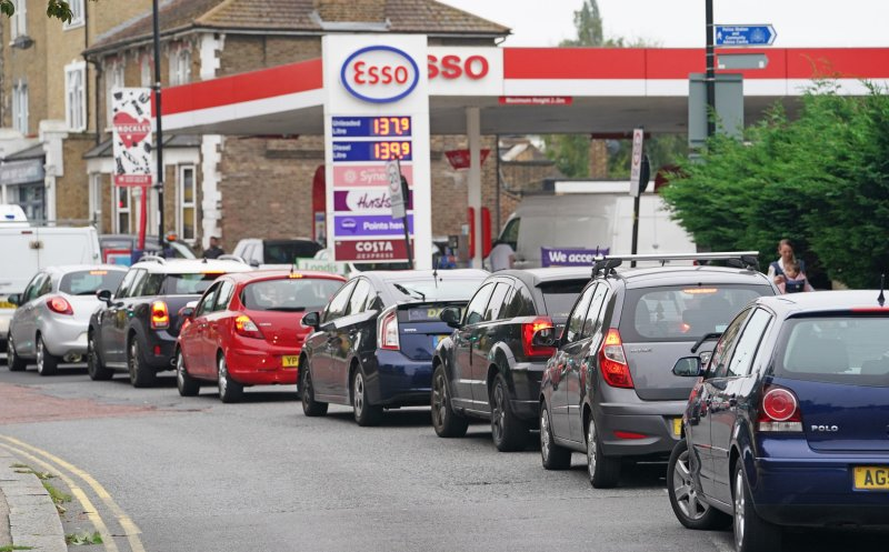 Petrol station disruption likely to be 'short-term' issue, as panicked  motorists queue through the night