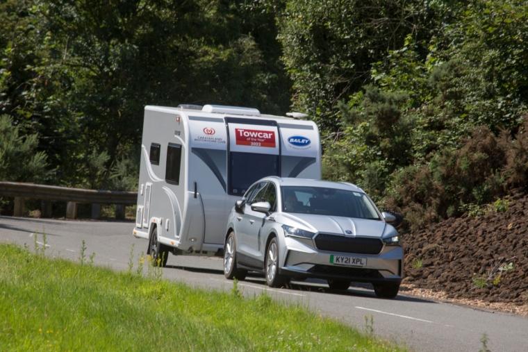 Skoda Enyaq, from £39,365, was judged Best EV