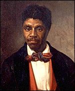 Oil painting of Dred Scott