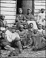 Slaves at Cumberland Landing, Va.