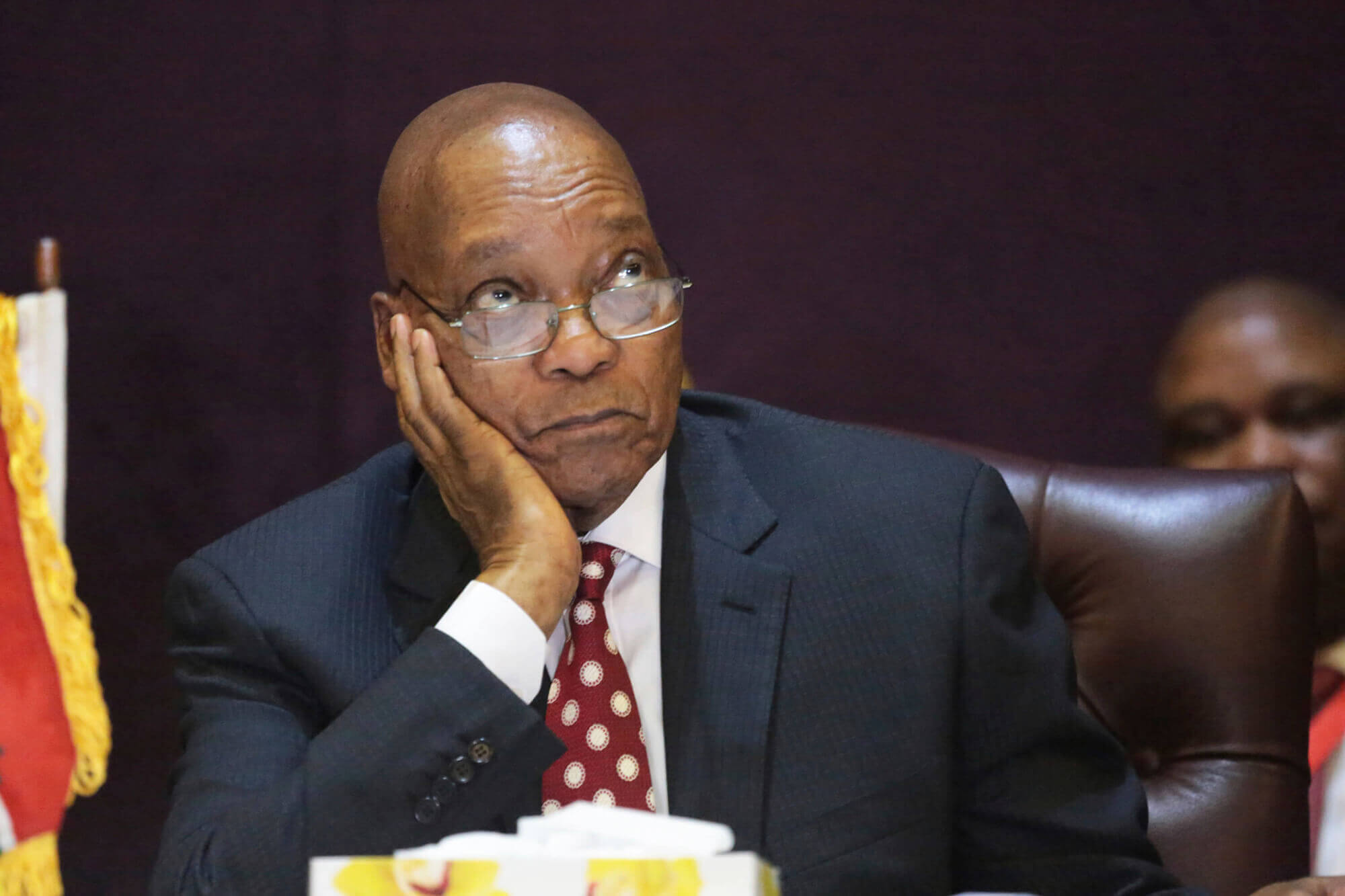 November 2016: South African President Zuma Survives Third No-Confidence Vote