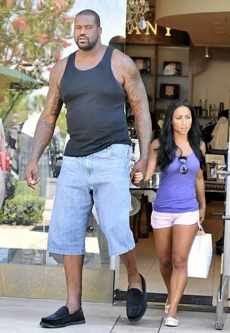 Shaquille O Neal Wife Height : shaquille, height, Photo, Girlfriend, Perspective, Large, Players, Really