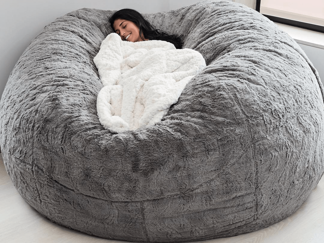 the gigantic fluffy pillow that broke