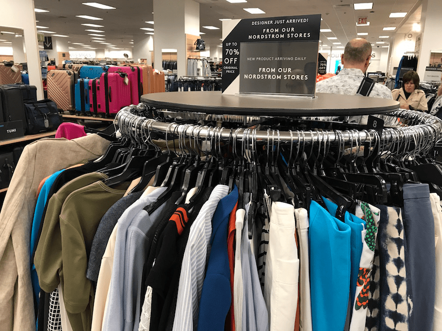 tj maxx and nordstrom rack which store