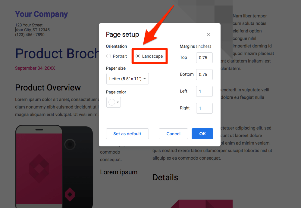 How to create a brochure in google docs · select the template gallery button in the top right to expand all of the templates. How To Make A Brochure On Google Docs