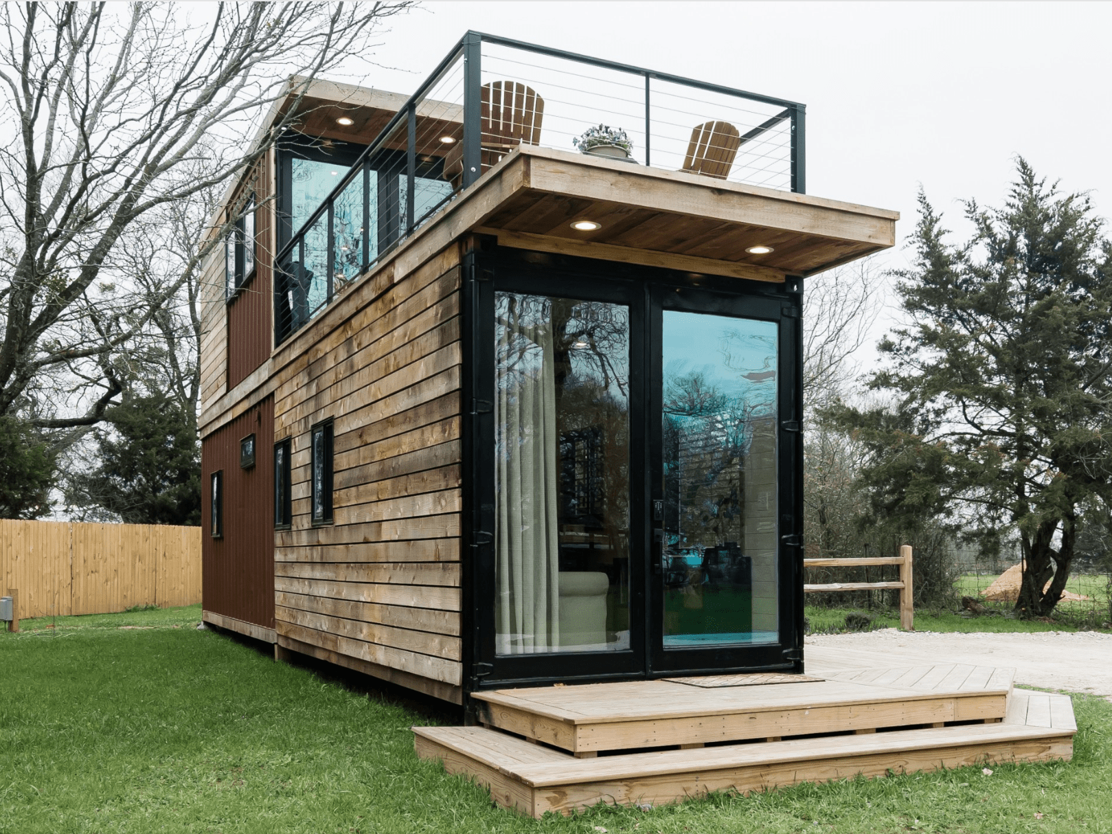 You Can Rent A Container Home Near Magnolia Market On