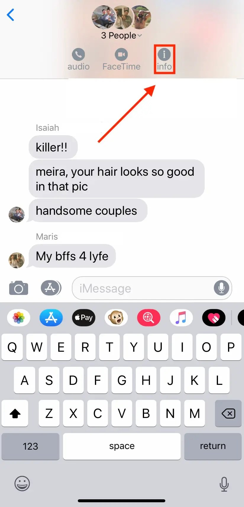 Group Chat Pics : group, Group, IPhone, Easily