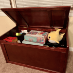 Melissa Doug Toy Chest Review Sturdy Wooden Toy Box