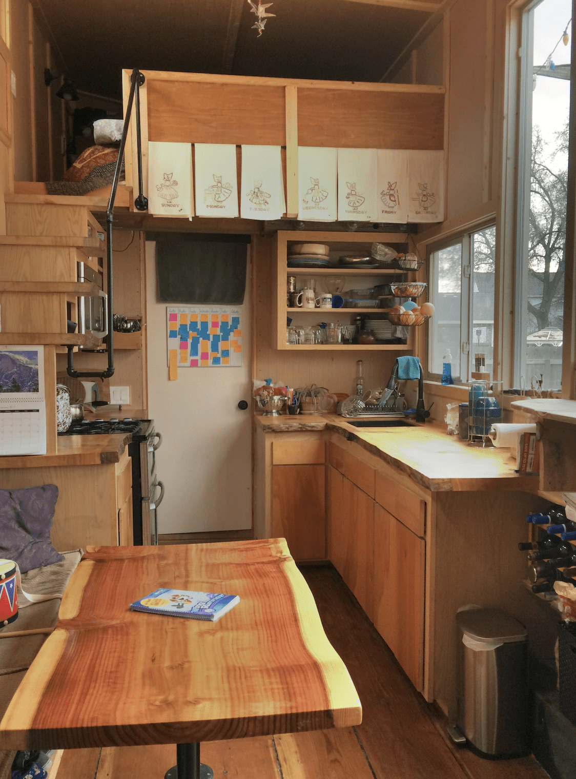 Photos Of Tiny House Kitchens That Show Just How Creative | House Plans With Stairs In Kitchen | Upstairs | Country Kitchen | Hidden Pantry | Luxury | Small House