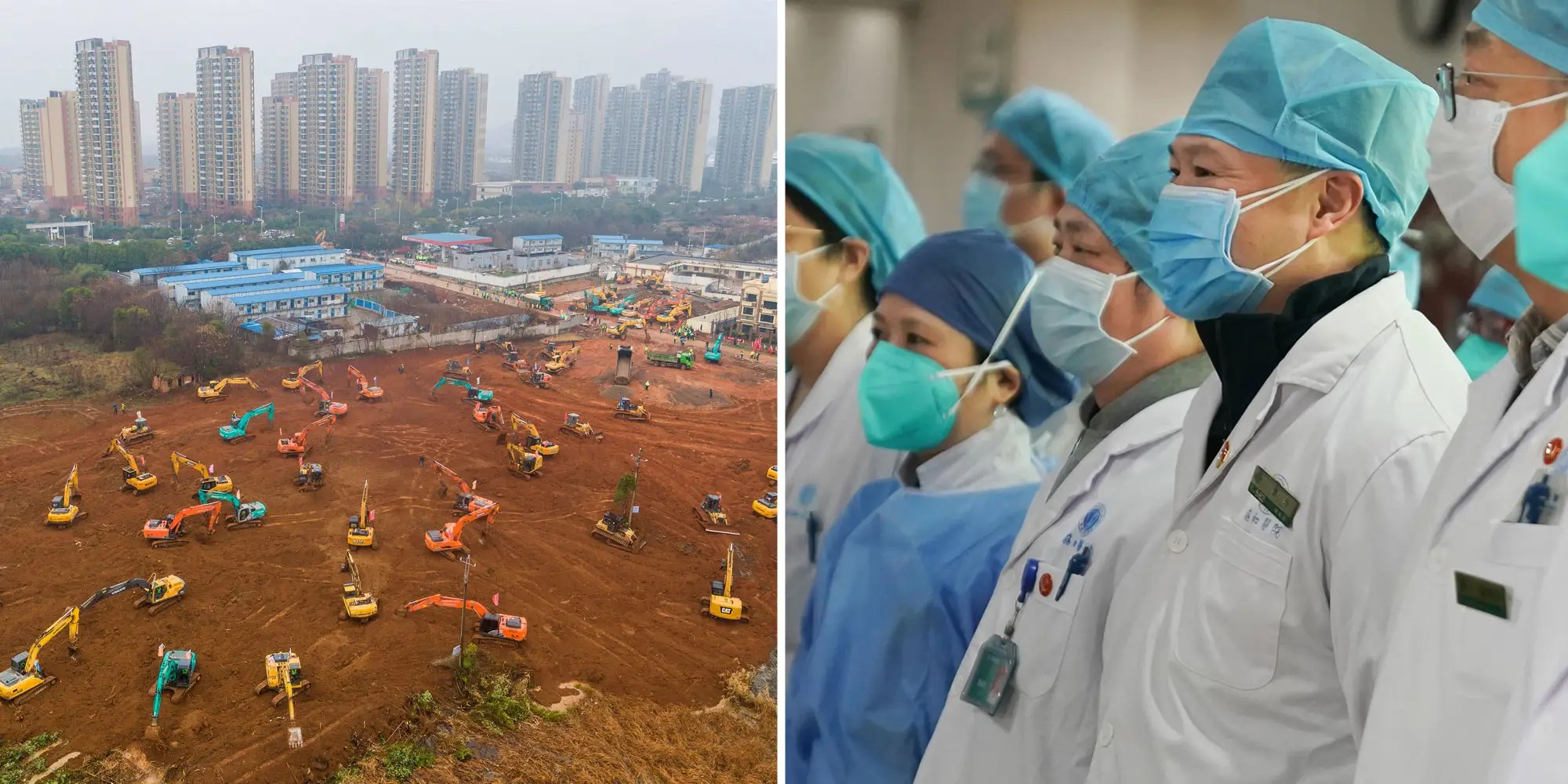China coronavirus: Wuhan panic-building new hospital in 6 days ...