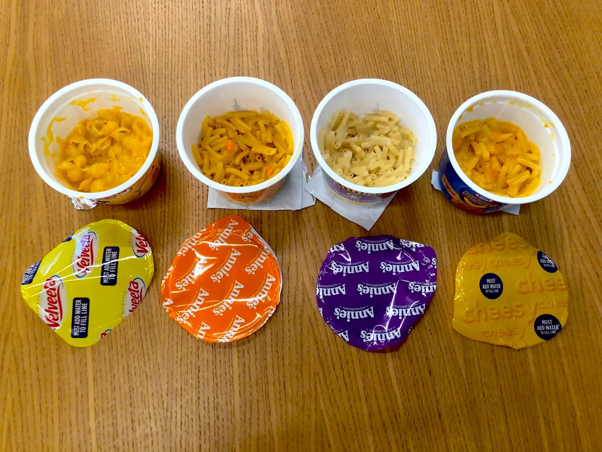 I Tasted 4 Microwavable Macaroni And Cheese Options Insider