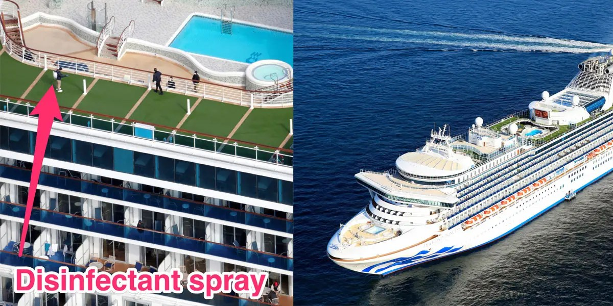 Coronavirus-struck cruise ship is being cleaned before next trip ...