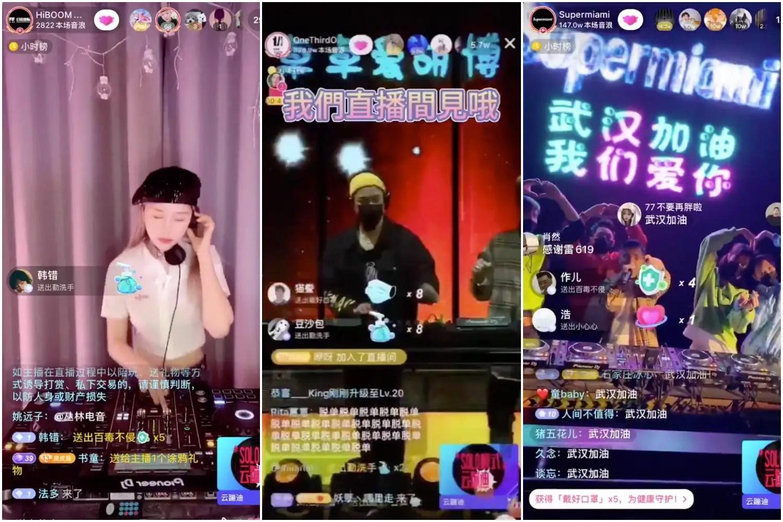 Photos: Chinese people on coronavirus lockdown go to raves online ...