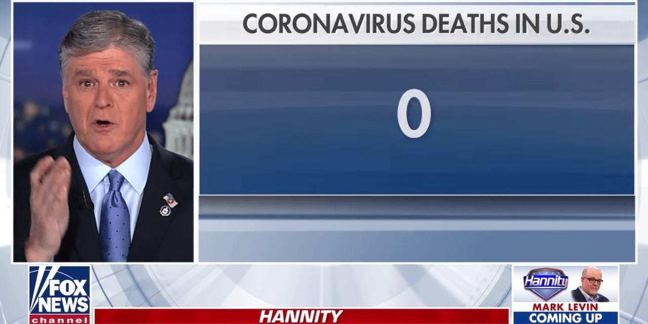 Coronavirus: Video shows Fox News shift to take COVID-19 seriously ...