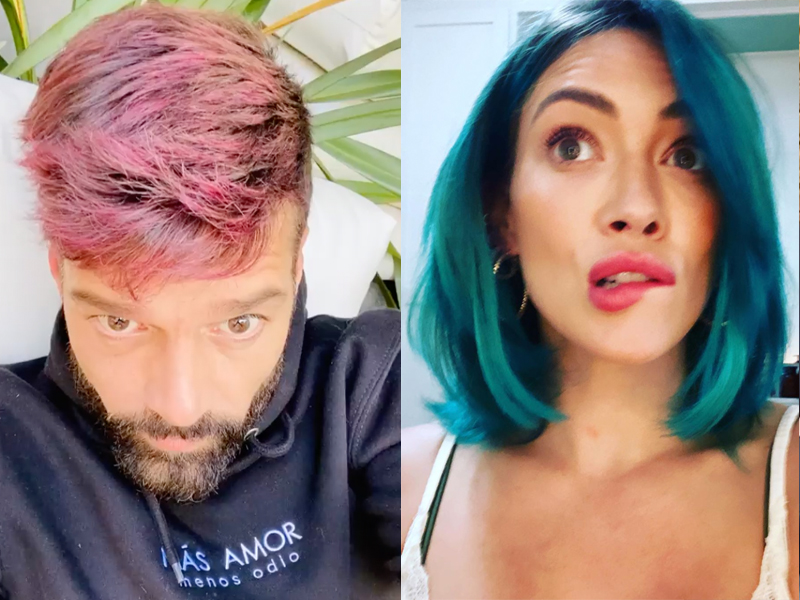 Celebrities Who Have Dyed Their Hair While Social Distancing Insider