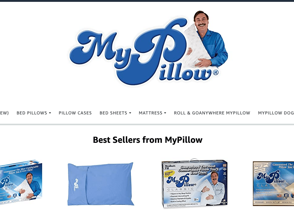 where to buy mypillow and what