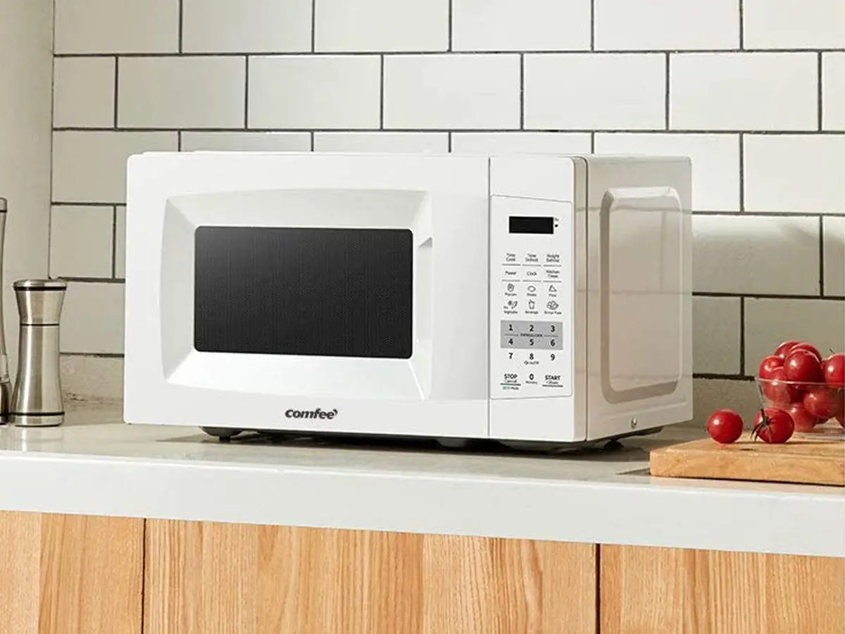 5 white microwaves available on amazon