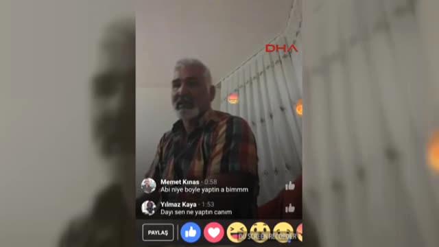 Facebook canlı yayında intihar görüntüleri! Ayhan Uzun şok etti
