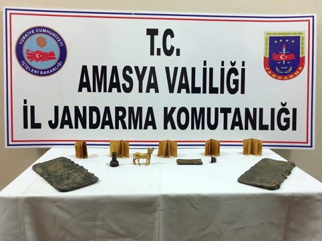 Amasya'da Hazreti Süleyman'ın mührü ele geçirildi
