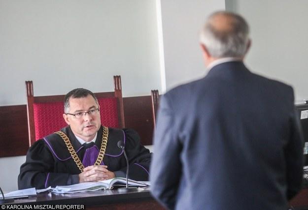 27.11.2015, Sąd Rejonowy Gdańsk-Północ. Sprawa Amber Gold /Fot. Wojciech Strozyk/REPORTER /East News