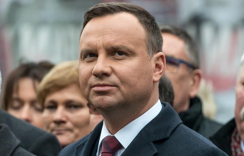 Andrzej Duda /Maciej Kulczyński /PAP