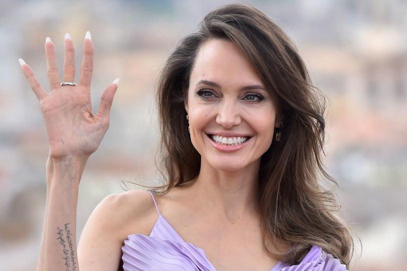Angelina Jolie meets the singer of The Weekend!  / Massimo Insabato / Archivio Massimo Insabato / Mondadori / Getty Images