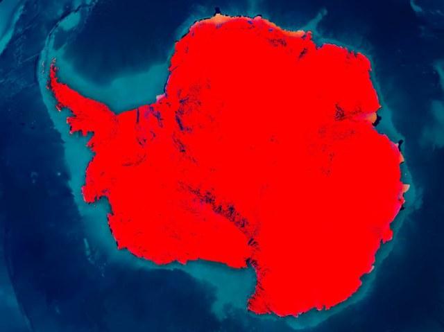 Antarktyda może skrywać historię starożytnych supernowych. /123RF/PICSEL