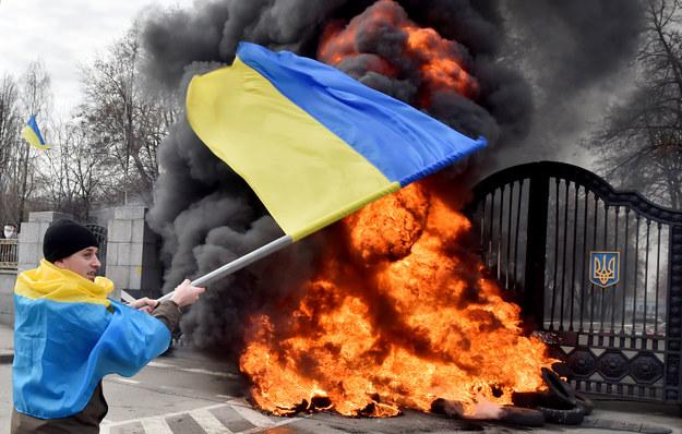 Czy Ukrainie grozi rozpad? /AFP