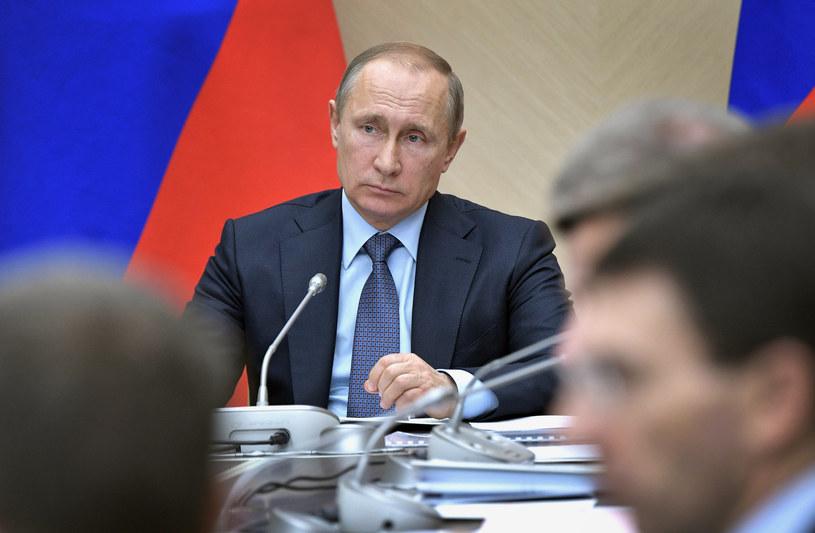Czy Władimir Putin przychyli się do wniosku Rady federacji? /Alexey NIKOLSKY / SPUTNIK / AFP /AFP