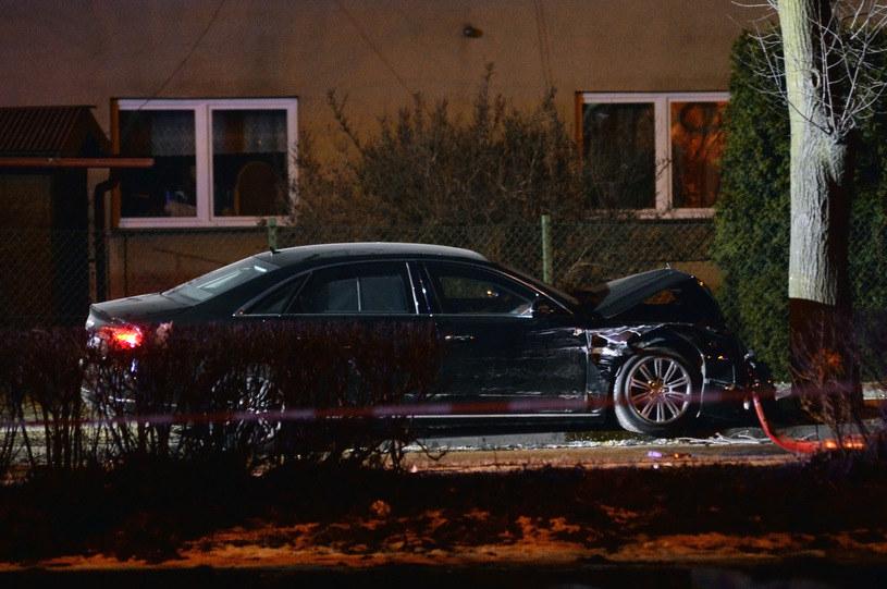 Do wypadku z udziałem limuzyny premier doszło w Oświęcimiu /Łukasz Kalinowski /East News