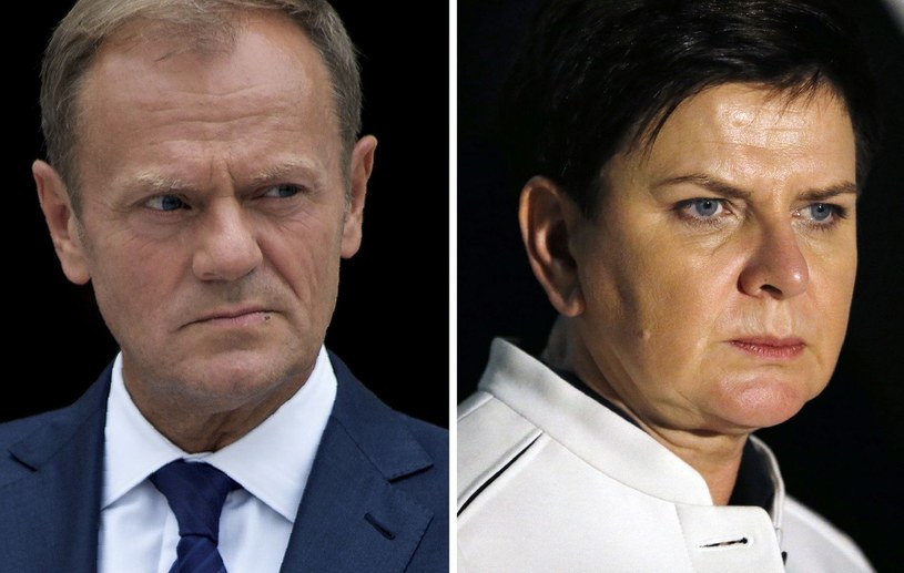 Donald Tusk/Beata Szydło /AFP