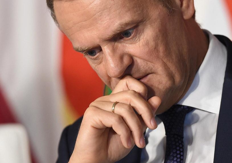 Donald Tusk: Odpowiedzialność polityczną przyjmuję na siebie /Radek  Pietruszka /PAP
