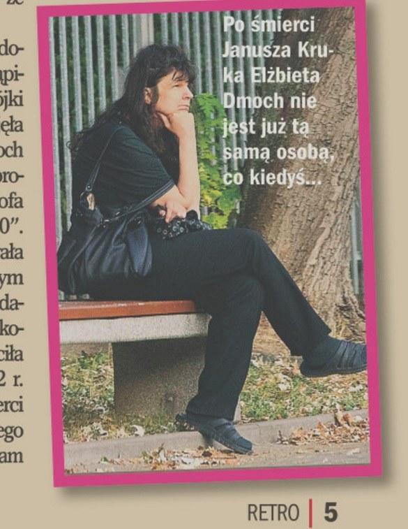 Elżbieta Dmoch znów jest sama! /- /Życie na Gorąco Retro