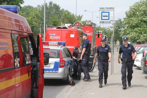 Ewakuacja TVP3 Katowice /JAROSLAW JAKUBCZAK /East News