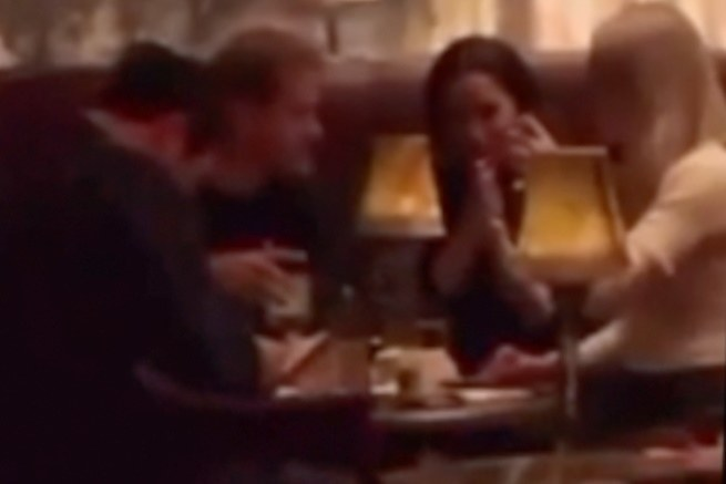 Harry and Meghan at a bar in New York / FORUM Agency