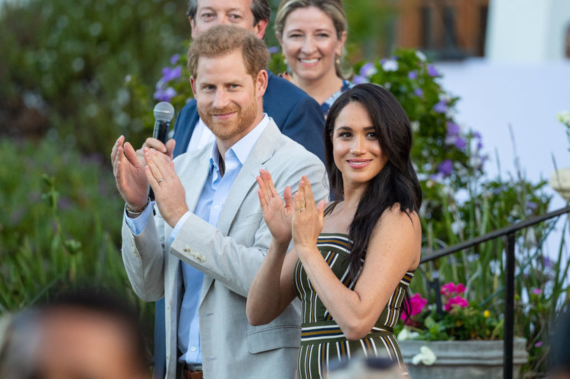 Harry and Meghan / Dominic Lipinski / Getty Images