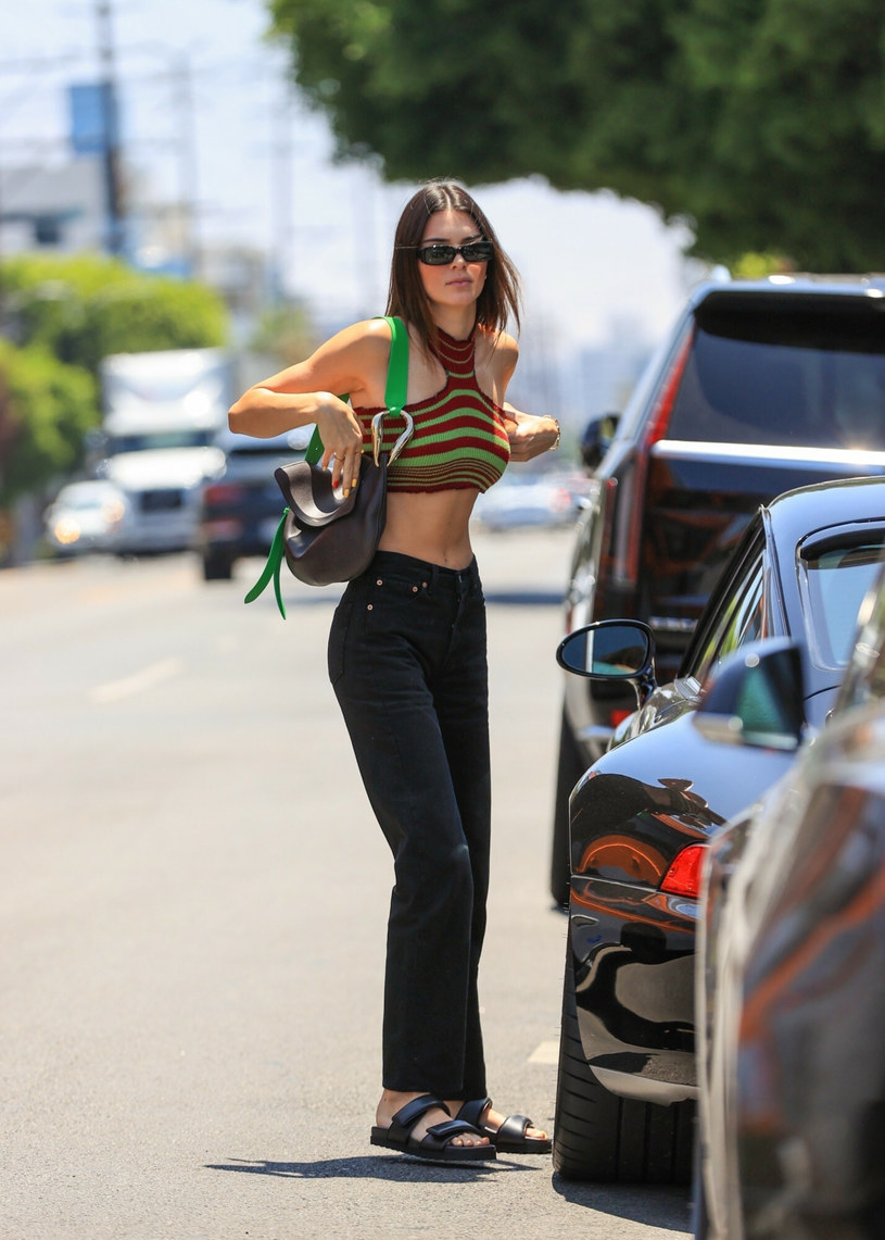 Kendall Jenner delighted with her latest styling / East News