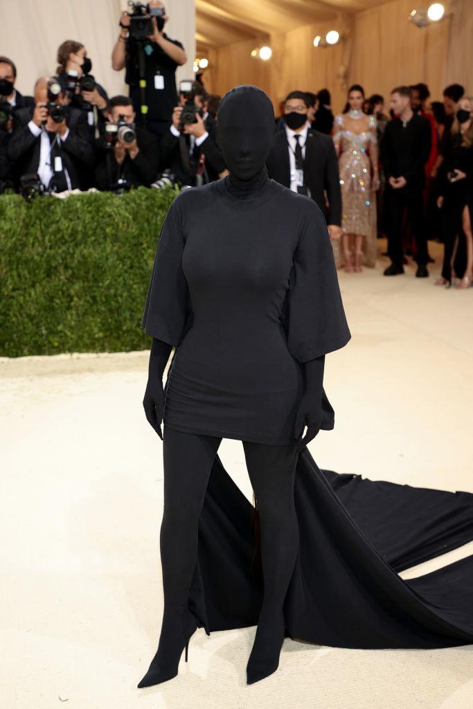 Kim Kardashian at the MET Gala / Dimitrios Kambouris / Getty Images