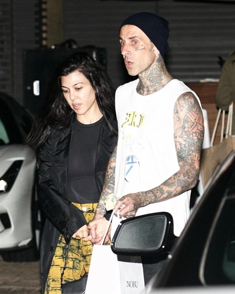 Kourtney Kardashian and Travis Barker / East News